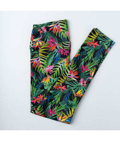Tropical Flowers - Legging