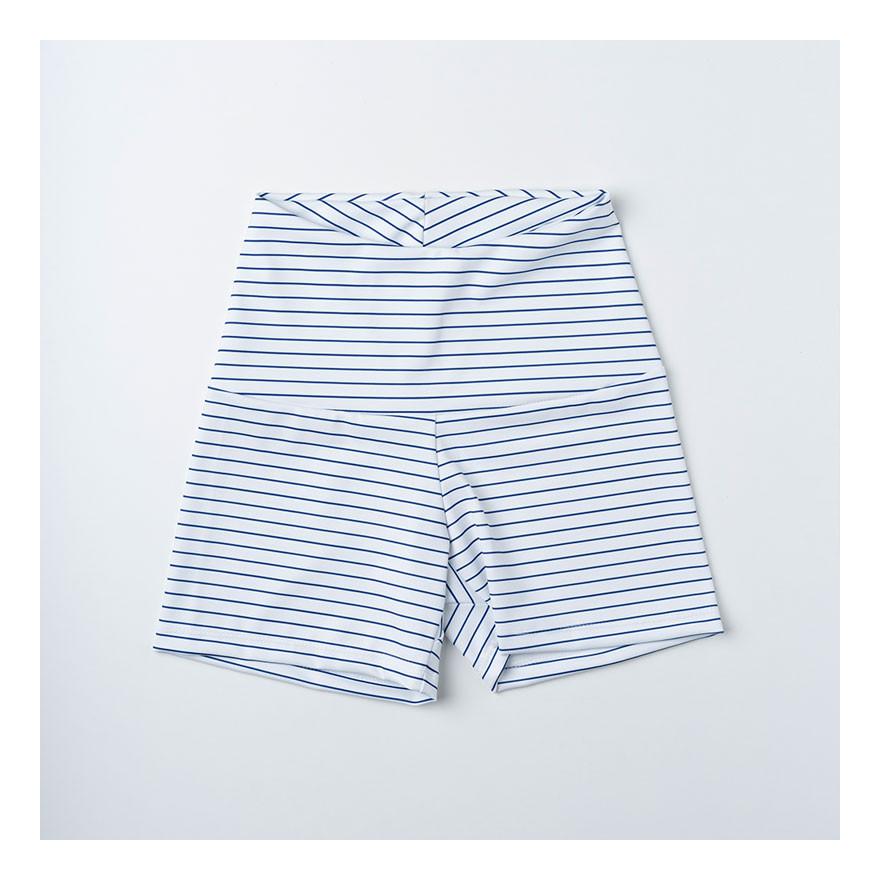 Navy stripes - Short