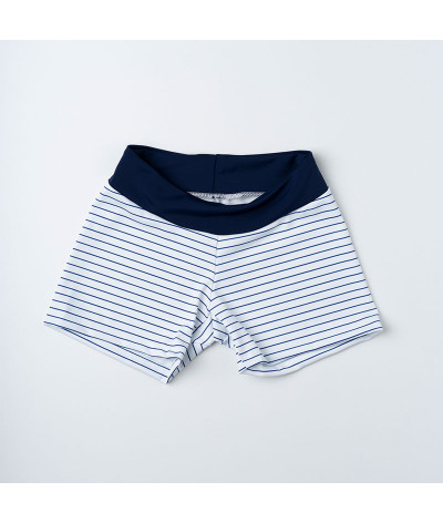 Navy stripes - Short Combinado