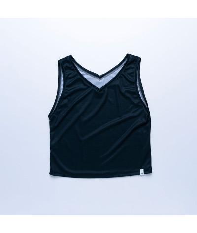 Camiseta Sira tejido transpirable Fresh NEGRO