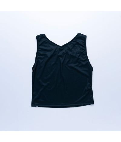 Camiseta Sira tejido transpirable Fresh NEGRO atras