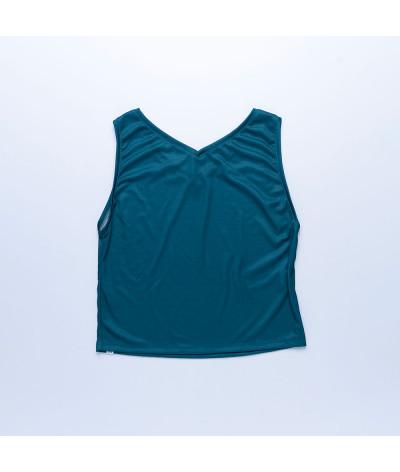 Camiseta Sira tejido transpirable Fresh ESMERALDA atras