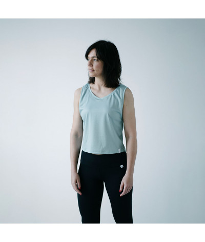 Camiseta Sira tejido transpirable Fresh AQUA modelo