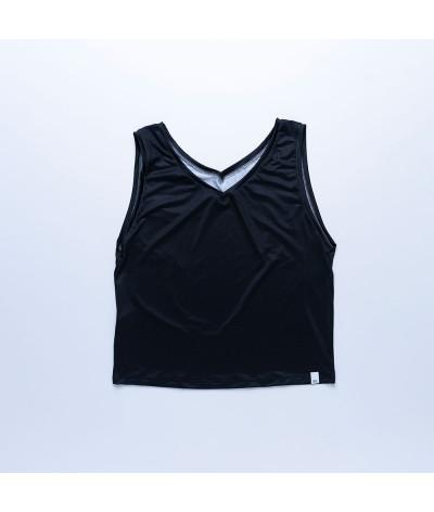 Camiseta Sira tejido reciclado Antracita