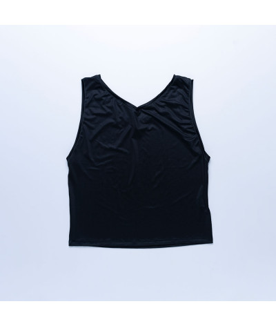Camiseta Sira tejido reciclado Antracita atras